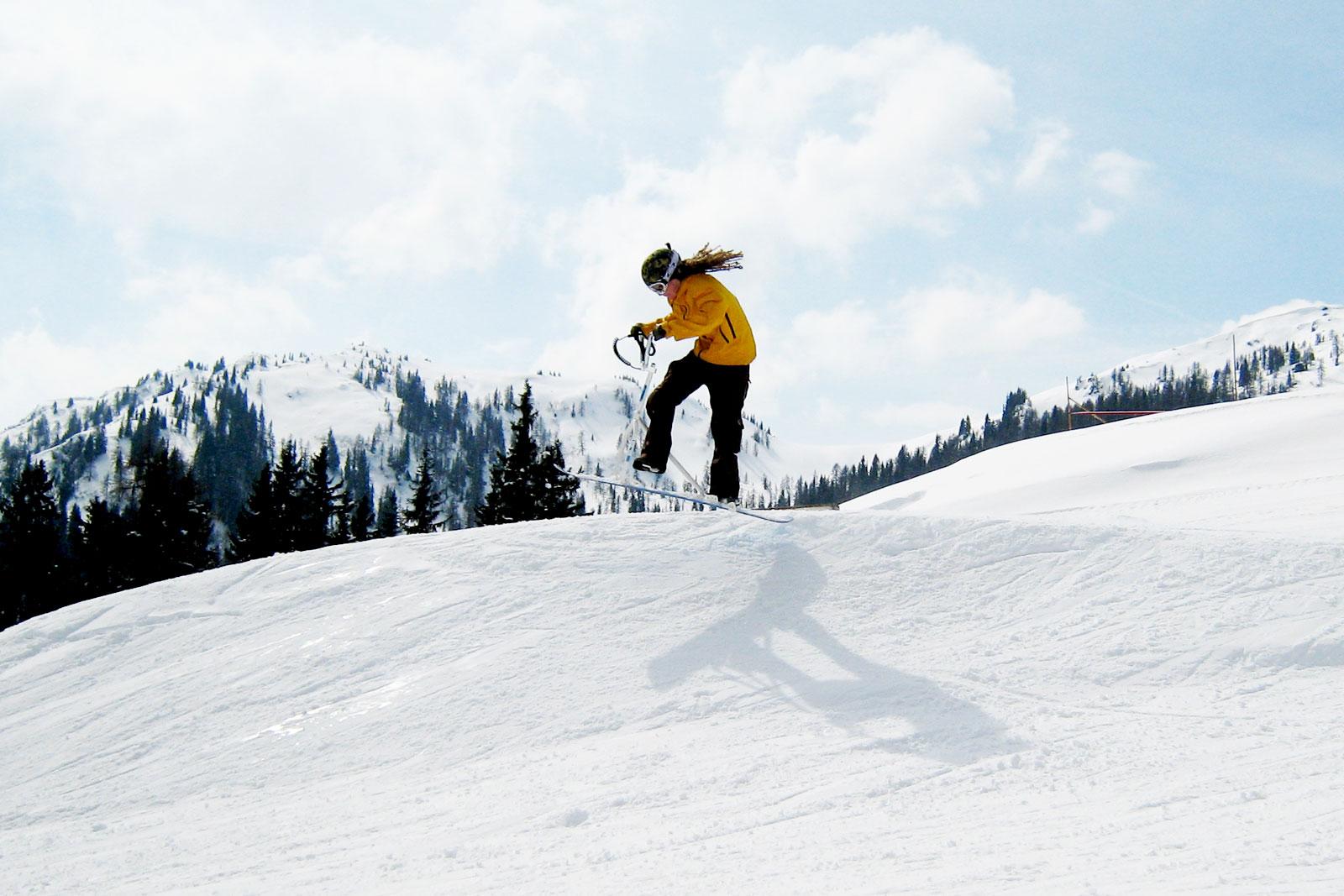 snowboning